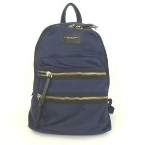 Authentic MARC JACOBS Backpack Daypack nylon FIRM